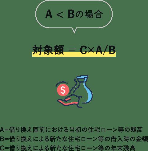 A小なりBの場合